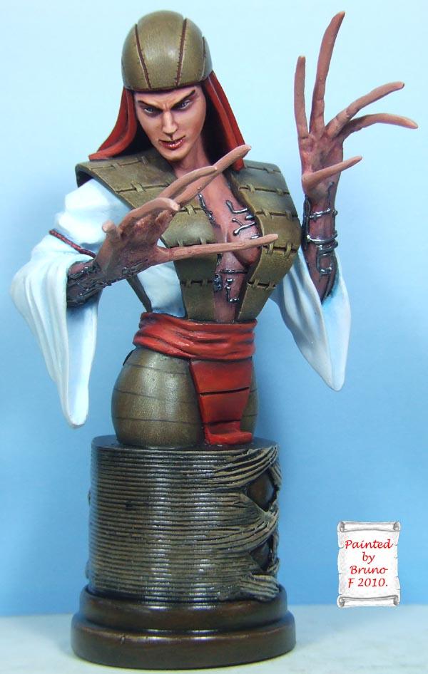 l'atelier de bruno : Lady Deathstrike  Deathfinal