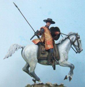 Dragon de cuera  54 mm (Art Girona) dans Figurines historiques dragon-1-295x300