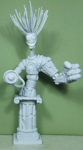 WARLOCK des news mutants sculpté par Troy McDevitt dans Bustes warlock-0-166x300