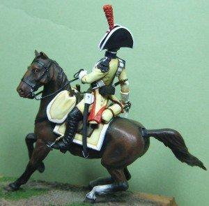 Sergent des dragons, régiment de NUMANCIA - Espagne 1808 (Art Girona) dans Figurines historiques sergent-2-300x295