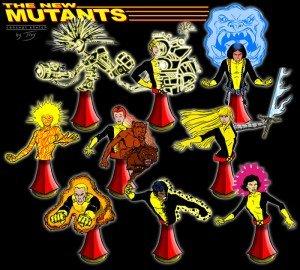 FELINA sculpté par Troy McDevitt dans Bustes 010910-new-mutants-300x270