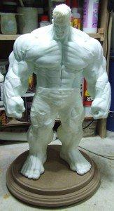 Hulk sculpté par sup3rs3d3d (53cm) dans Kits hulk-0-163x300