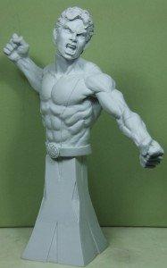 Solar des News Mutants sculpté par Troy McDevitt. dans Bustes appret-187x300